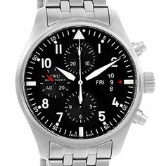 Men's Certified Pre-Owned Watches - IWC Pilot automaticselfwind mens Watch IW377704 Certified Preowned *** Learn more by visiting the image link. (This is an Amazon affiliate link)