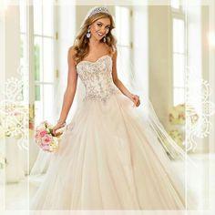Stella York Cinderella gown