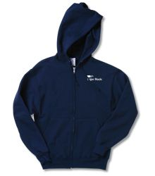 Jerzees NuBlend Full-Zip Hooded Sweatshirt - Screen  @4imprint #4imprint Hooded Sweatshirts, Hoods, Giveaway, Topshop, Zip, Sweaters, Stuff To Buy, Shopping, Products