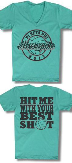 "Pi Phi Arrowspike shirt - ""Hit me with your best shot!"""