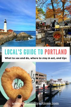 Great food, lovely attractions, wonderful atmosphere – you can find them all in Portland, Maine, USA Maine Road Trip, East Coast Road Trip, Best East Coast Vacations, Cool Places To Visit, Places To Travel, Travel Destinations, Voyage Canada, Visit Maine, New England Travel