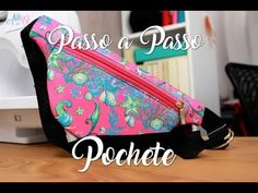Detailed Walkthrough - Pouch- Passo a Passo Detalhado – Pochete Step-by-step fabric pouch bag. Money Belt, Diy Bags Jeans, School Bag Essentials, Dog Tent, Diy Bags Patterns, Diy Dog Bed, Grandma Crafts, Hip Bag, Small Bags