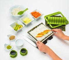 https://www.unusual-gifts.net/shop/sushi-making-kit/ #unusualgifts #gifts #giftshop #birthdaypresents #birthdaygift #giftsforher #giftsforhim