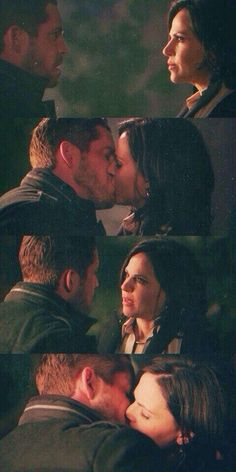Regina/ evel queen and robin hood. my three favorite couples on the show. villins desserve a happily ever after too. (once upon a time)