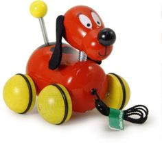 Vilac Fripouille the Pull Along Dog Baby Toy -- AMAZON Great Sale
