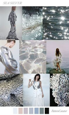 TRENDS // PATTERN CURATOR - SEA SILVER . SS 2018