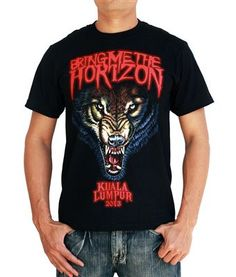 Official Bring Me The Horizon Wolf Bones Unisex T-Shirt Sempiternal Suicide Seas