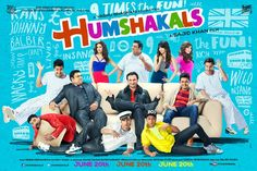 Welcome to Movies World: Humshakals Hindi Movie DVDScr Latest Bollywood Movies, Bollywood News, Latest Movies, Latest Music, Hindi Movie Song, Movie Songs, Movie Showtimes, Sajid Khan, Bollywood Posters