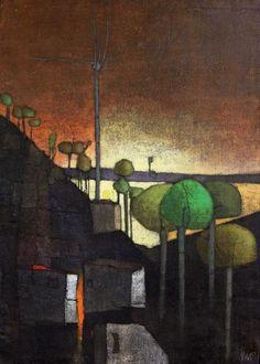 Inos Corradin(1929~)「Represa de Ibiuna」