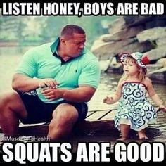 Listen to daddy !