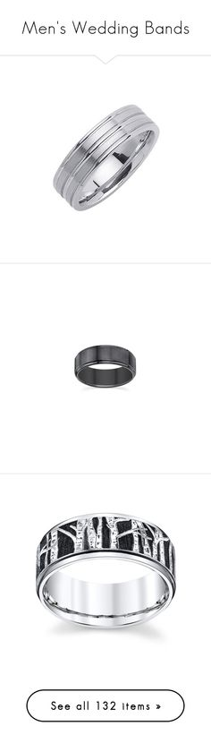 """Men's Wedding Bands"" by servayne ❤ liked on Polyvore featuring jewelry, rings, platinum ring, platinum band ring, tiffany & co jewelry, band rings, tiffany & co ring, wide band rings, tiffany & co. and tiffany & co jewellery"
