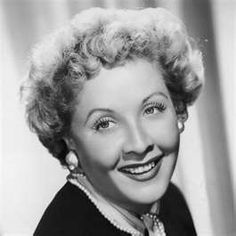 Vivian Vance better known as Ethel Mertz and Lucy's BFF