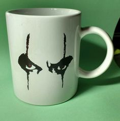 The Crow : City Of Angels Movie Eyes Promotional Coffee Mug 1996 Brandon Lee Sold $8.99