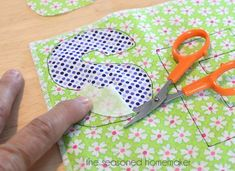 How to Applique on sewing machine.