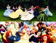 princesses and friends