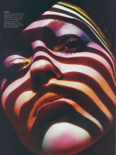 Sasha Pivovarova photographed by Mario Sorrenti for Vogue Paris February 2011  Styling by Jane How