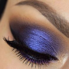 Vibrant purple.