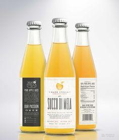 Apple juice label | 99designs