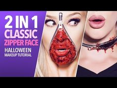 Zipper Face Makeup   Beauty-Makeup   Pinterest   Zipper face ...