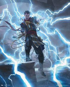 Ral, Storm Conduit MtG Art from War of the Spark Set by Wesley Burt Fantasy Kunst, Fantasy Rpg, Medieval Fantasy, Fantasy Artwork, Dark Fantasy, Fantasy Wizard, Fantasy Character Design, Character Design Inspiration, Character Concept
