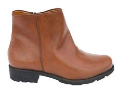 Shop Brown Vegan Boots from Eco Vegan Shoes - Grip+ Vegan Ankle Boots
