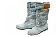 HOW TO SEW BOOTS JEANS