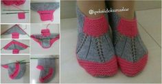 New Bridal Boots - Knitting 2019 - 2020 Knitting Blogs, Knitting For Kids, Knitting Socks, Knitting Projects, Baby Knitting, Crochet Projects, Knitting Patterns, Crochet Baby Shoes, Crochet Slippers