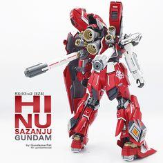RX-93-v2 [SZS]: Hi Nu Sazanju Stein Gundam Sub image 2
