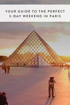 Your Guide to the Perfect 3-Day Weekend in Paris via @PureWow
