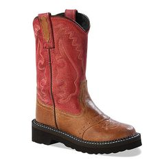 Jama Youth Flexi Tubbies Western Boots