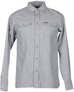 961079d6601 Carhartt Men Solid Color Shirt on YOOX. The best online selection of Solid  Color Shirts Carhartt.