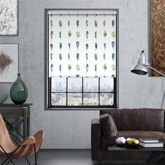 Aquatic shades, sensational detailing and perfect pattern making. That's what the Limosa Lagoon roller blind is all about, and boy have we fallen in love!