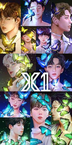 Yohan Kim, Fanart Bts, Really Love You, K Idol, Kpop Boy, Kpop Groups, Kawaii Anime, Art Inspo, Chibi