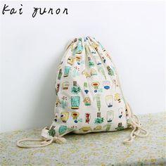kai yunon Fashion Unisex Backpacks Feeding Bottle Printing Bags Fluid Systems Drawstring Backpack Sep 14