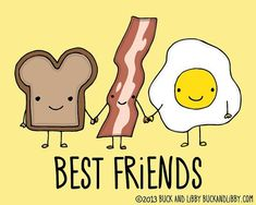 We love #NationalToastDay! And toast is better with eggs & bacon! YUM!