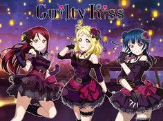 Guilty Kiss Edit by yuiny Rainbow Live, Mari Ohara, Video Game Anime, Video Games, Sunshine Love, Girl In Water, Anime Best Friends, Live Girls, Videogames