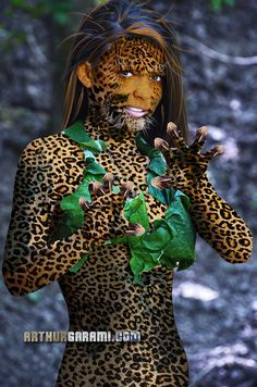 Cheetah girl by Arthur Garami on 500px