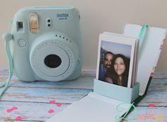 Camara Instantanea - Ideas That Produce Nice Photos Irrespective Of Your Skills! Instax Mini Album, Mini Polaroid, Polaroid Instax, Instax Mini Camera, Fujifilm Instax Mini 8, Fuji Instax, Instax Mini Ideas, Polaroid Cameras, Filofax