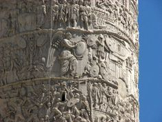Trajan's Column: The column depicts Roman emperor Trajan's victory in the Dacian Wars.