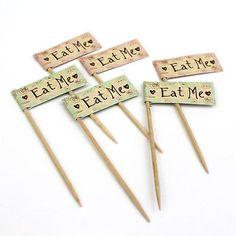 Vintage-Alice-in-Wonderland-Mad-Hatters-Tea-Party-Eat-Me-Mini-Food-Tags-Pack12