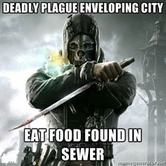 I totally was thinking this when I found the first weepers in the sewer.