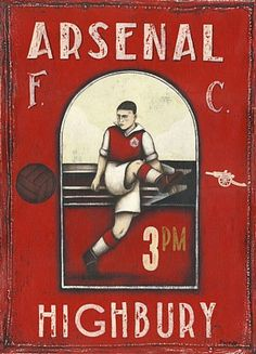 The Gooner - Arsenal Fanzine Football Art, Football Design, Arsenal Football, Vintage Football, Arsenal Players, Arsenal Fc, Football Pictures, Sports Pictures, Arsenal Pictures
