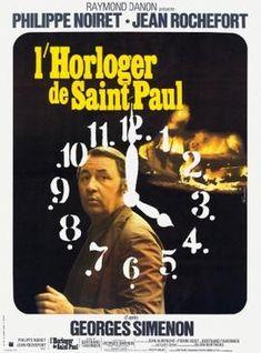 The Clockmaker (1974-France) Jean Rochefort, Film France, National Board Of Review, Spoiled Kids, French Films, Drama Film, Reign, Prison, Novels