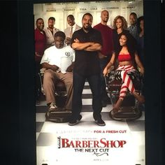#chicagostandup #barbershopthemovie I was thoroughly impressed and inspired by the new #barbershop movie. The barbershop used to be the pillar of the black community. We need to get back to that and do our part!! @successbarbersalon @bobbymackthebarber @davisrl15 @andre35stbarber @the_barber_suite Let's talk ideas.... by fonduehair
