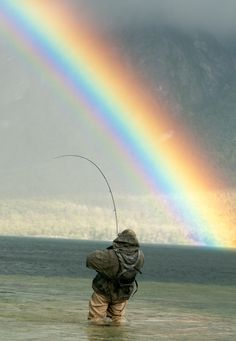 Must Be Fishing For Rainbow Trout