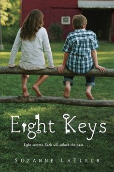 Eight Keys to unlock eight locked barn doors and a mystery behind each one which lets Elise begin to understand herself and her deceased parents. Touching, unique and heartwarming.