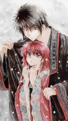 Akatsuki no Yona Hak x Yona iPhone wallpaper