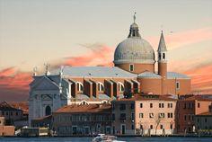 Chiesa del Santissimo Redentore in Venezia - Venice, Italy - Architect Andrea Palladio -begun in 1577, completed after Palladio's death in 1592 by Antonio da Ponte