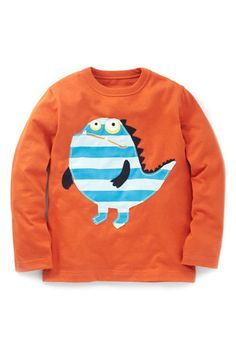 mini boden monster tee