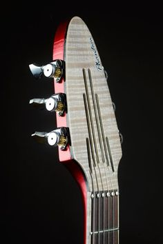 What a fantastic headstock!!   Pierrick Brua | Brua Phantom